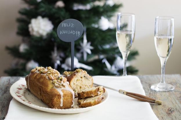 Budín navideño gluten free