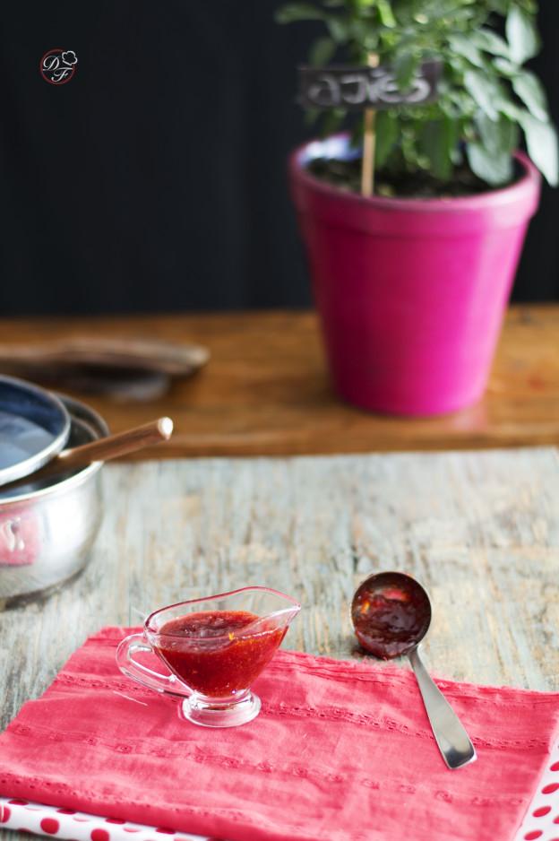 Mermelada de ajies picantes y chiles